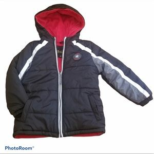 Ixtreme Boys Puffer Hooded Jacket 4T